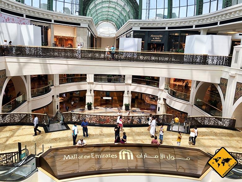 Dubai Sehenswürdigkeiten: Mall of the Emirates