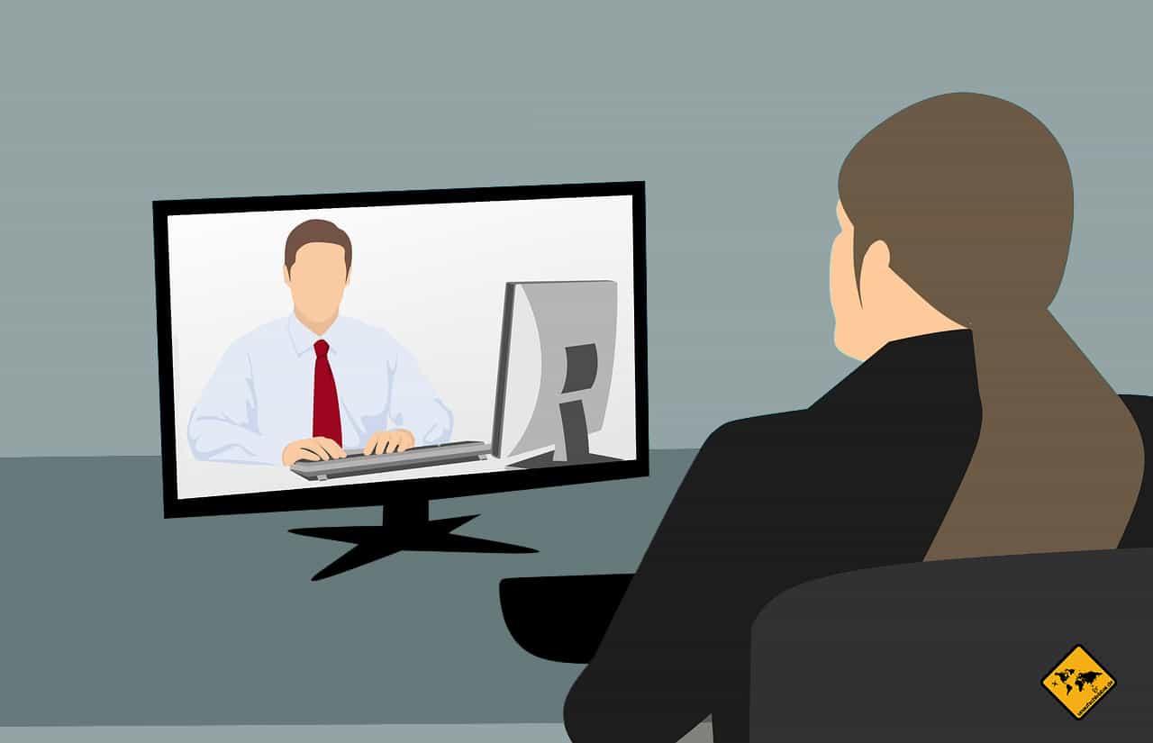 Mangelnde Kommunikation mit dem Chef Remote arbeiten im Ausland