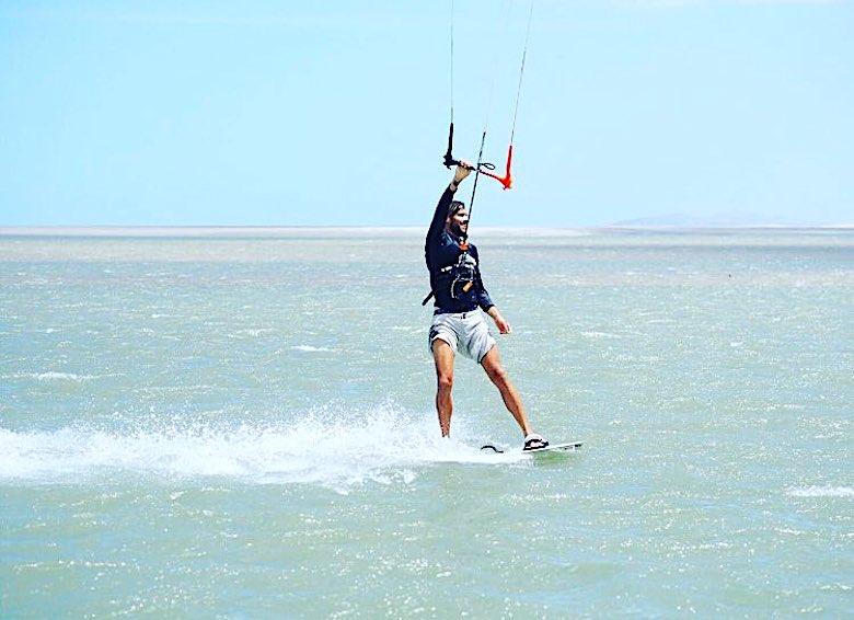 Marcus Meurer Kitesurfen