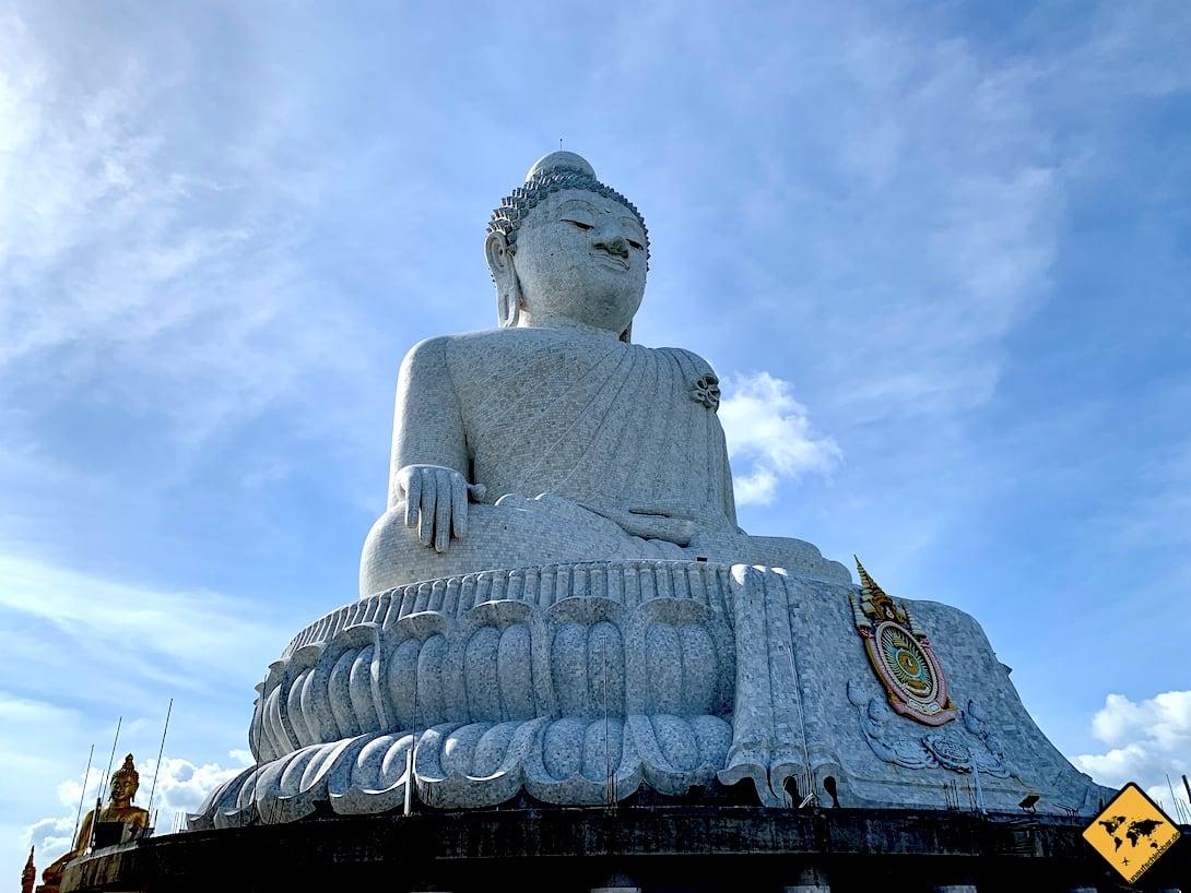 Marmor-Statur Big Buddha Phuket
