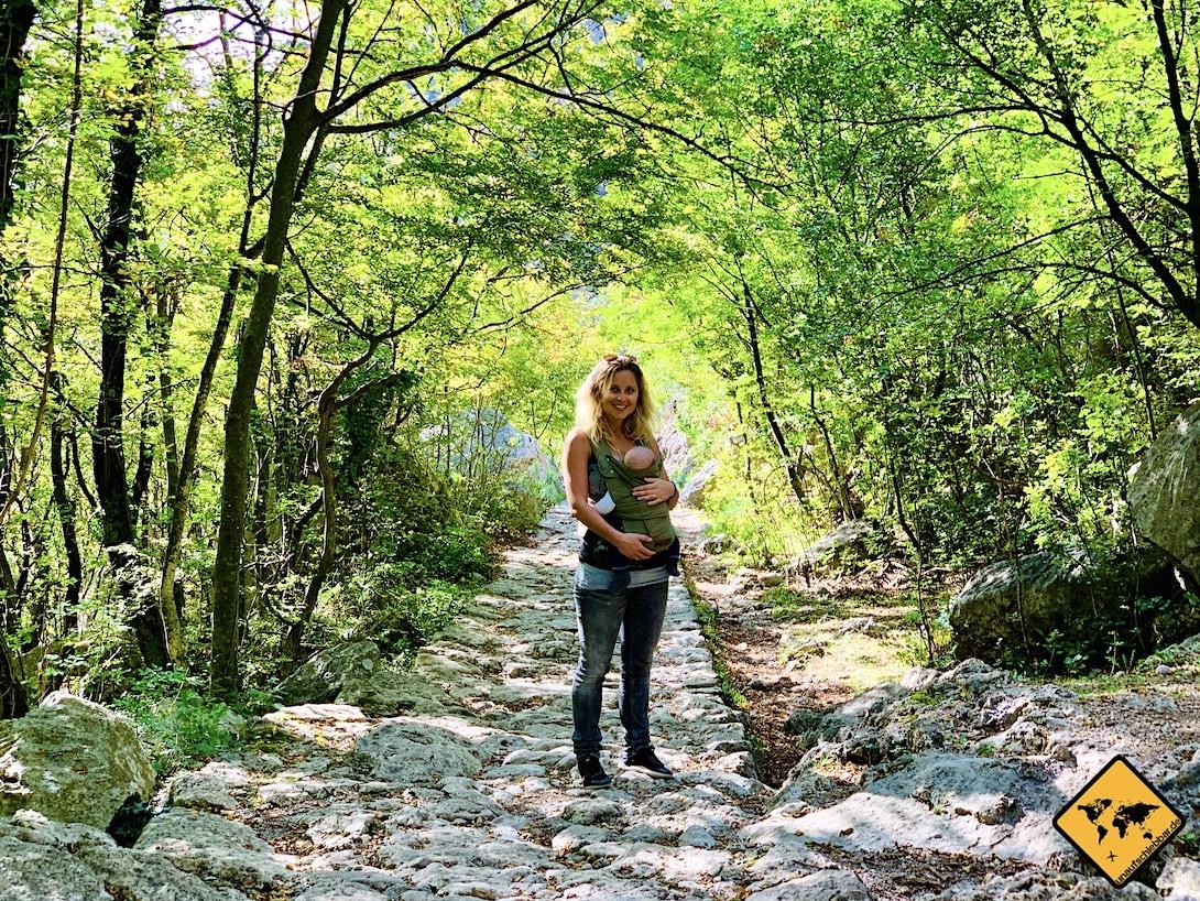 Marsupi Babytrage Kroatien Urlaub