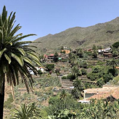 Der schöne Ausblick auf das Dorf Masca