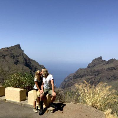 Der dritte Aussichtspunkt in der Masca Schlucht Teneriffa