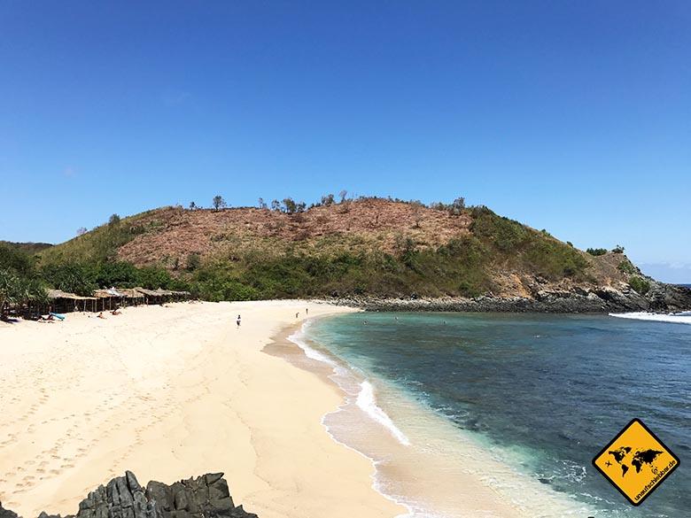 Mawi Beach Lombok Strand