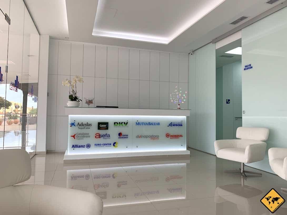 Medizinische Versorgung auf Fuerteventura CenMed Klinik Corralejo