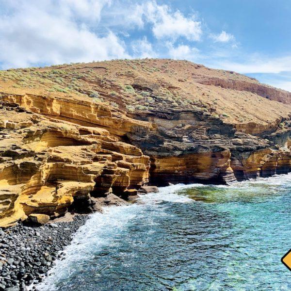 Meer Felsen Playa Amarilla Teneriffa