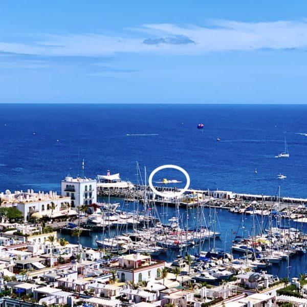 Meer Hafen Mogán Gran Canaria