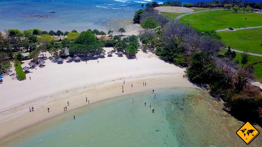 Meer Sandstrand Bali Nusa Dua