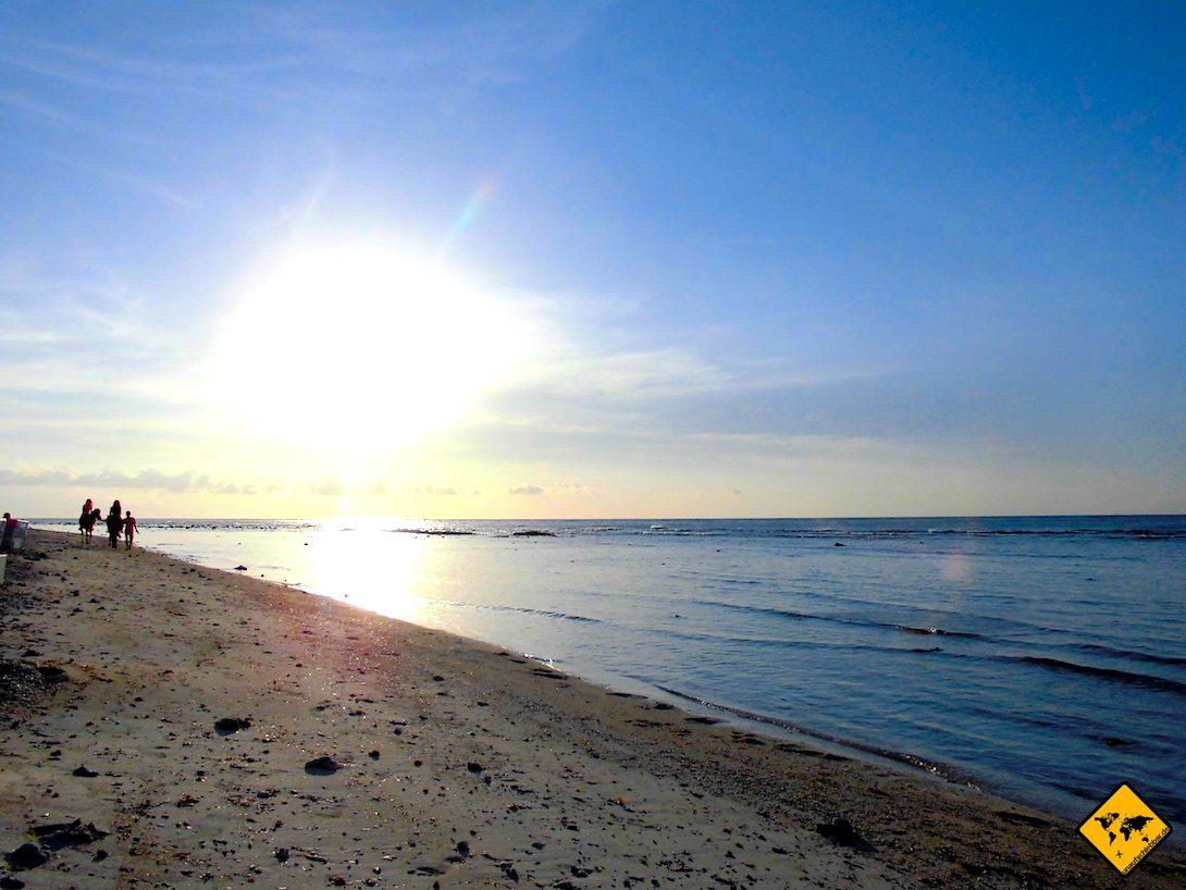 Meer Sonnenuntergang Lombok Gili Inseln