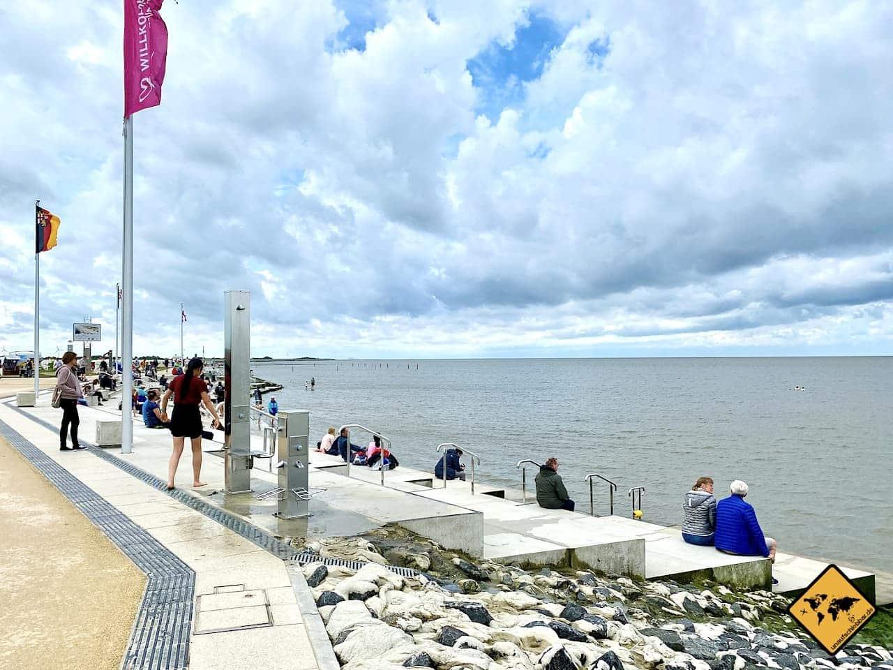 Meeresterrassen Strand Norddeich