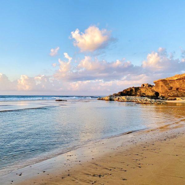 Meerwasser-Becken Playa Jarugo