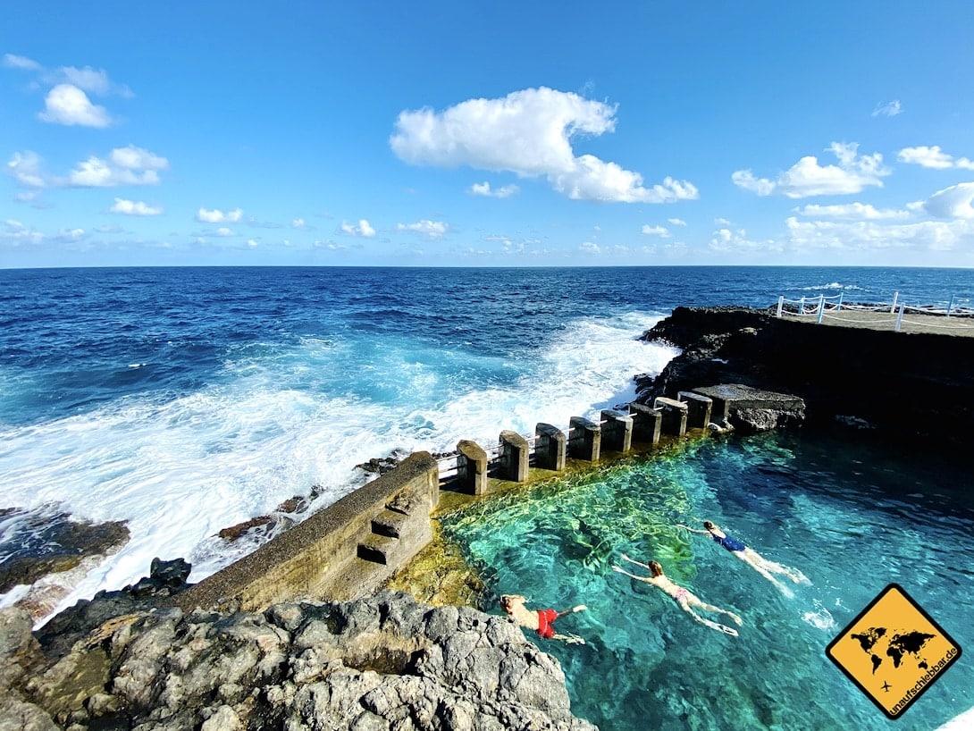 Meerwasser-Schwimmbad Charco Azul La Palma Tipps