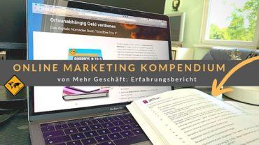 Online Marketing Kompendium von Mehr Geschäft: Erfahrungsbericht