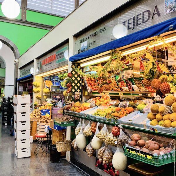 Mercado de Vegueta Obststand
