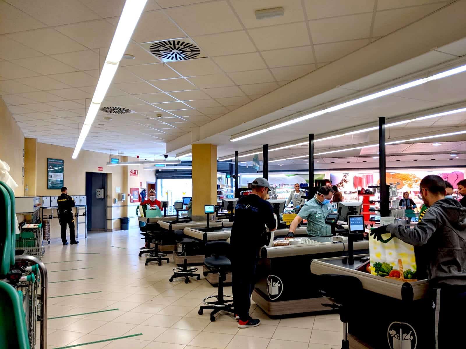 Mercadona Teneriffa Mundschutz