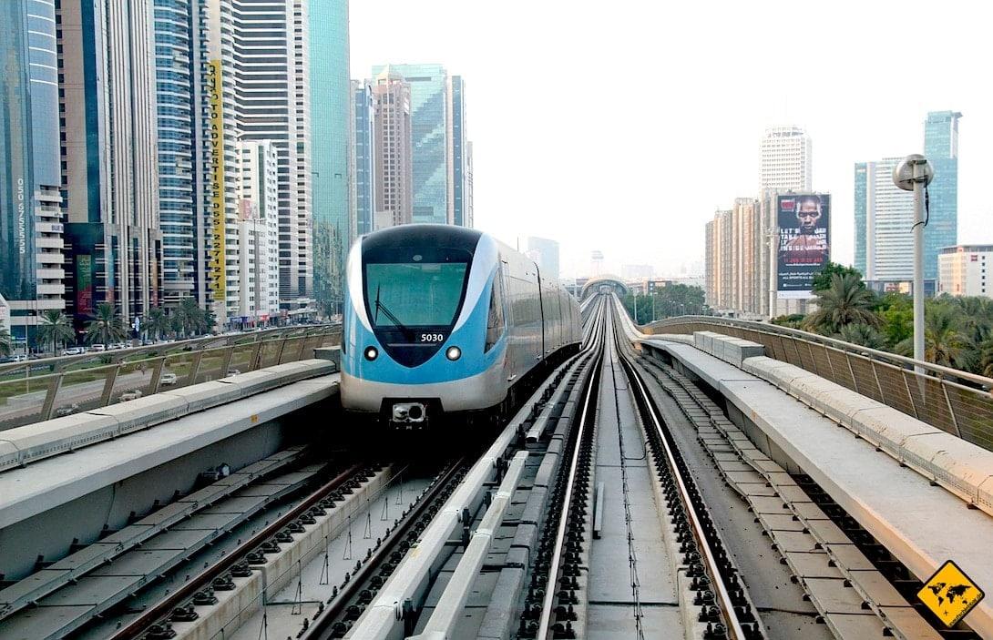 Metro Dubai Fortbewegung