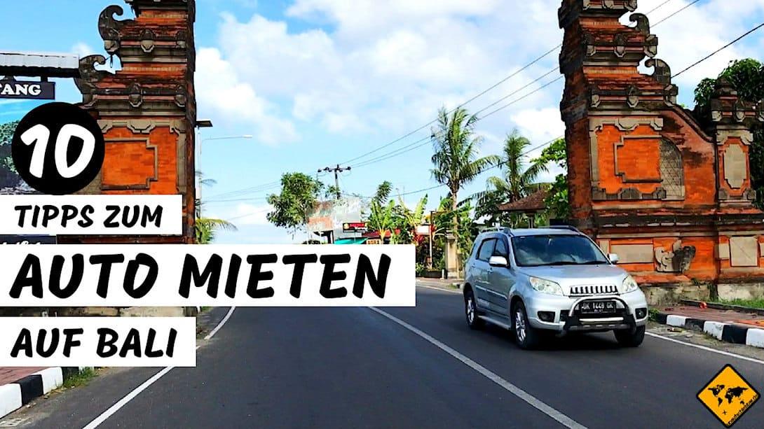 Mietwagen Bali