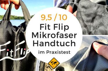 Fit Flip Reisehandtuch – Erfahrungen & Mikrofaser Handtuch Test