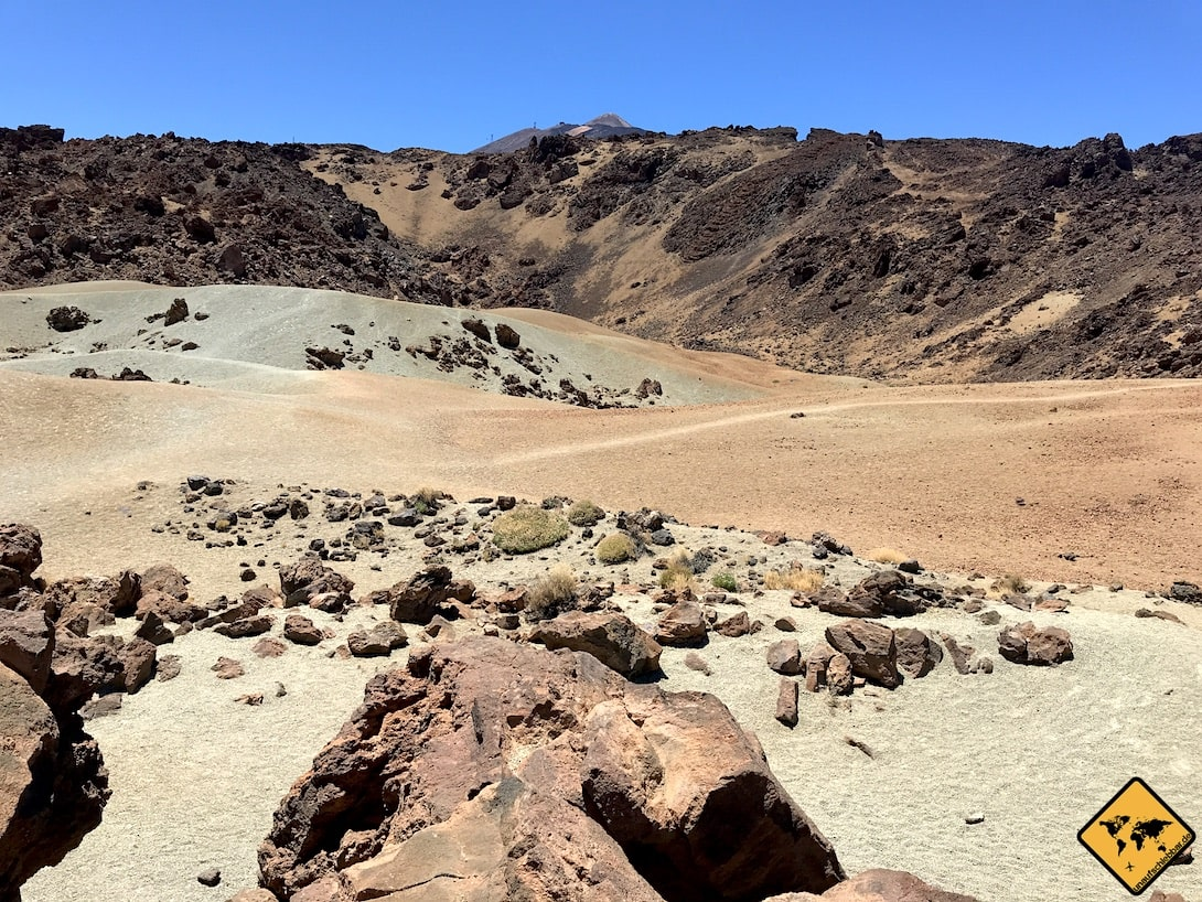 Minas de San Jose Teide Nationalpark Landschaft