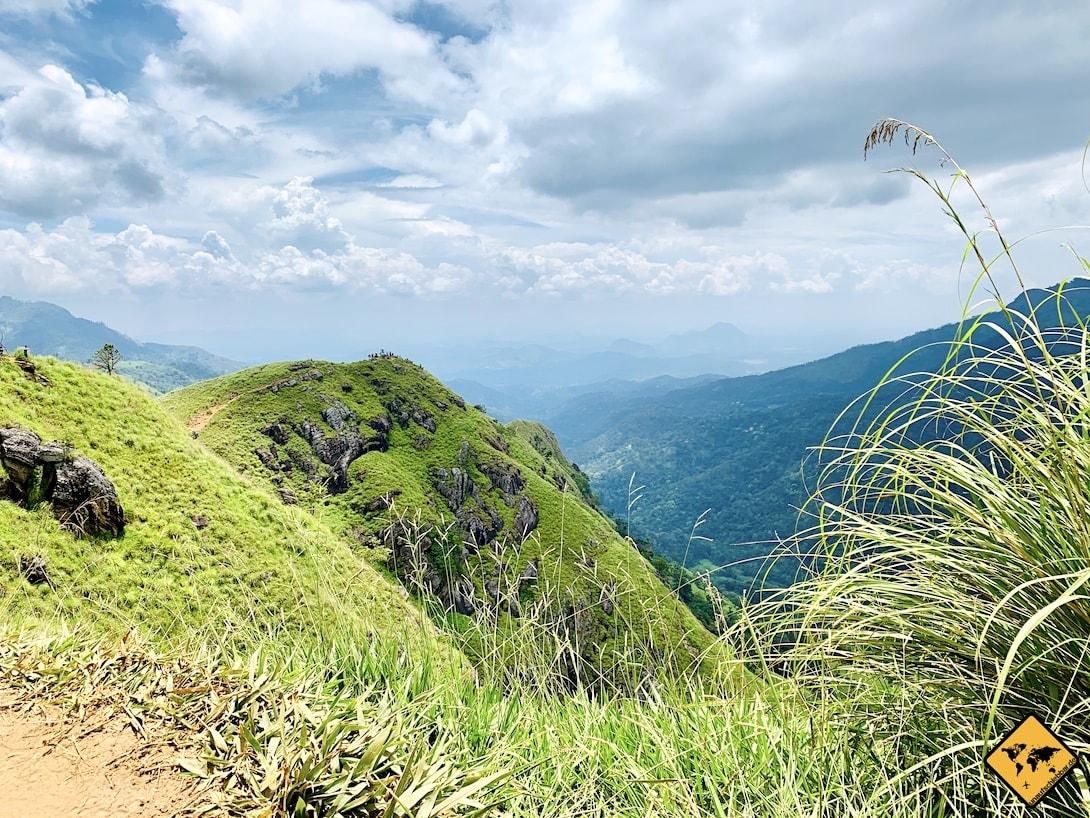Mini Adam's Peak Sri Lanka Aussicht