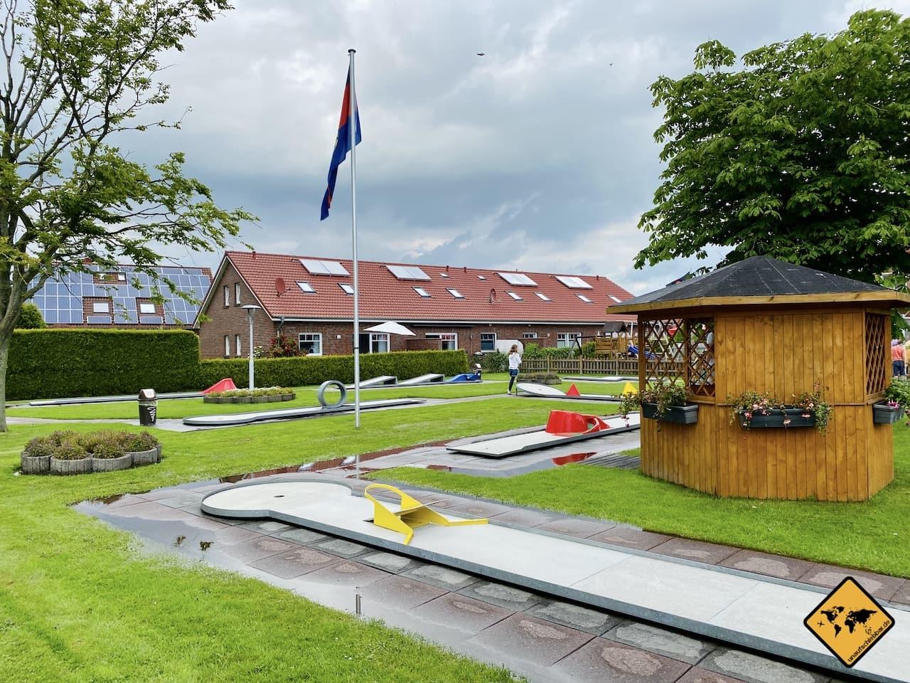 Minigolf Haus des Gastes Tierpark Werdum