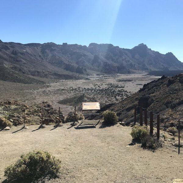 Mirador Boca Tauce Nationalpark Teide