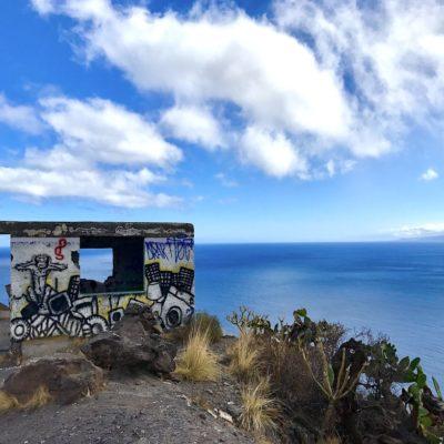 Am Mirador Las Teresitas findest du nicht nur eine schöne Aussicht aufs Meer, sondern auch einige Graffitis