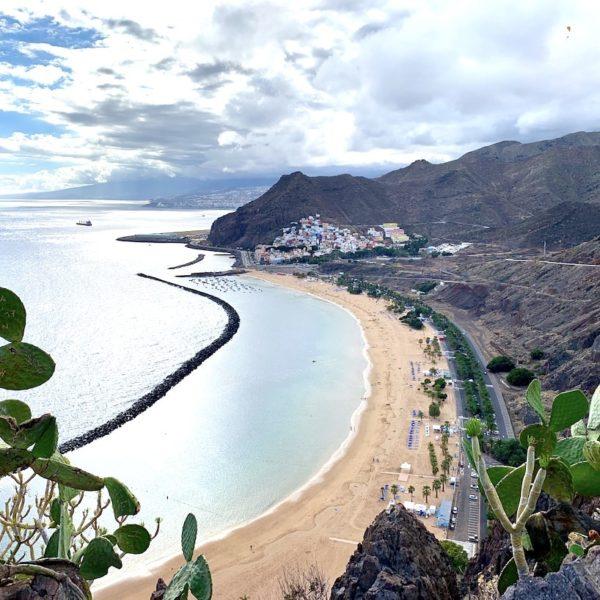 Mirador Las Teresitas Strand auf Teneriffa