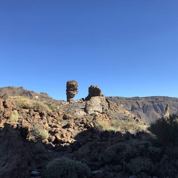 Mirador Llano de Ucanca Lava-Formationen Nationalpark Teide