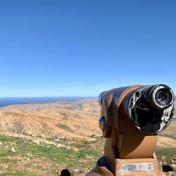 Mirador de Guise y Ayose Fuerteventura Fernglas