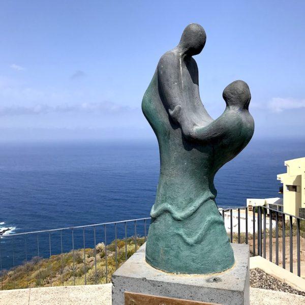 Mirador de Las Breñas El Sauzal Skulptur