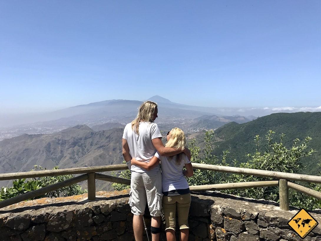 Mirador del Ingles Anaga Gebirge Teneriffa