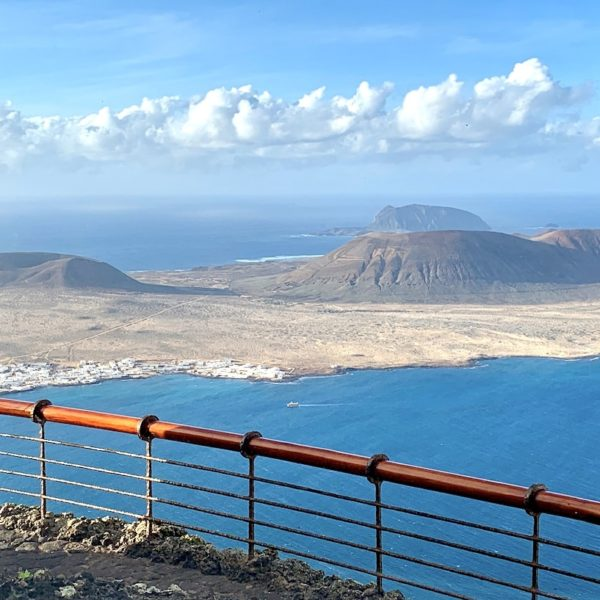 Mirador del Río Lanzarote Aussicht Geländer