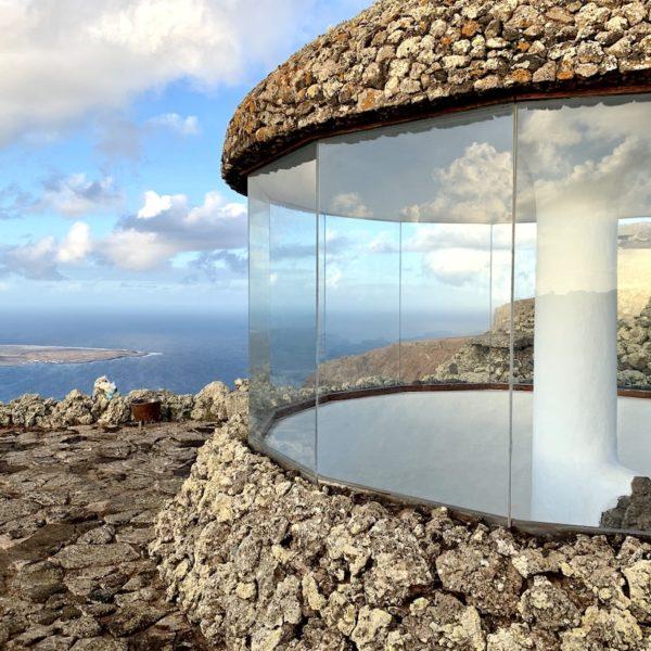 Mirador del Río Lanzarote Glas Architektur