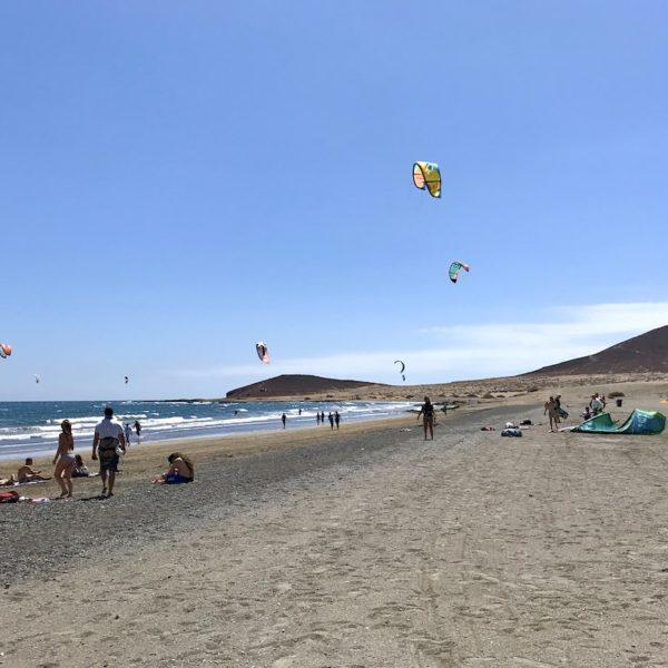 Montaña Roja Playa Sur El Médano Teneriffa