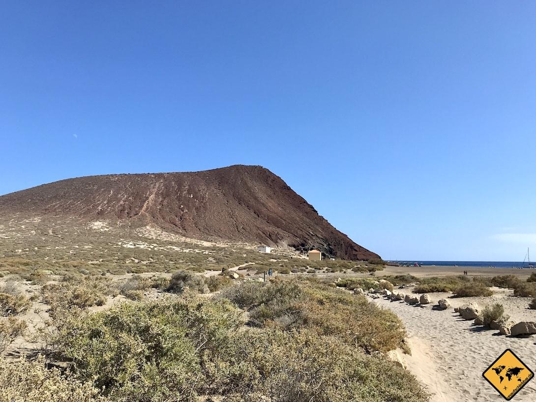 Montaña Roja Teneriffa El Médano