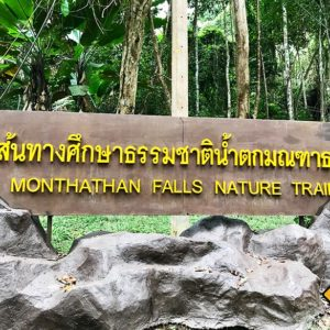 Monthathan Falls Nature Trail Doi Suthep National Park