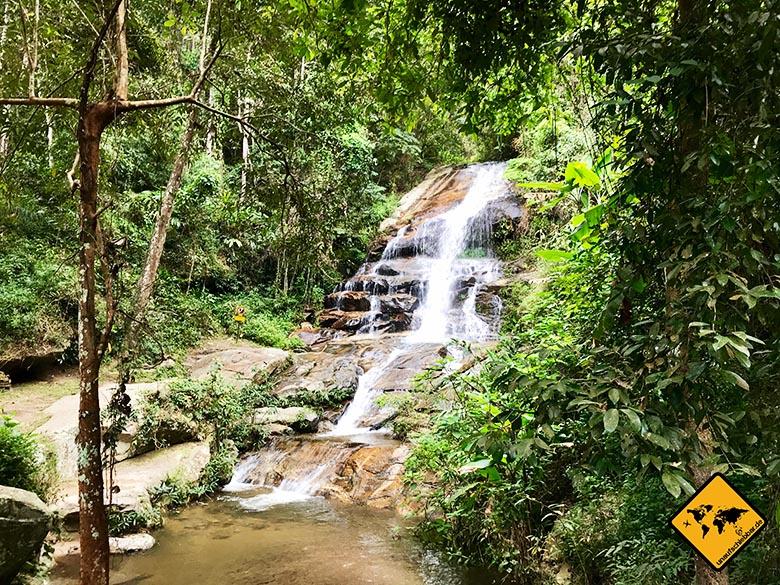 Monthathan Waterfall Doi Suthep Chiang Mai
