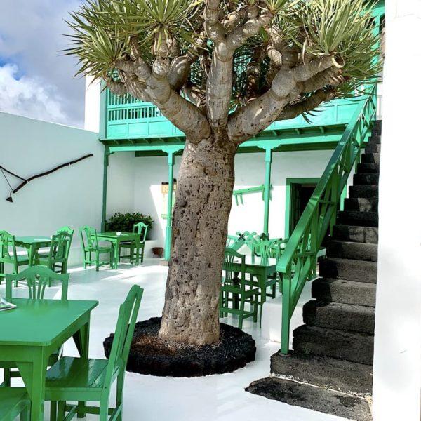 Monumento al Campesino Restaurant Außen-Terrasse