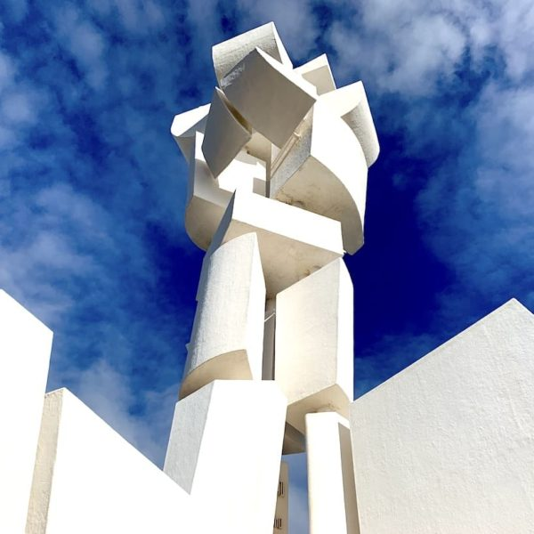 Monumento al Campesino blauer Himmel