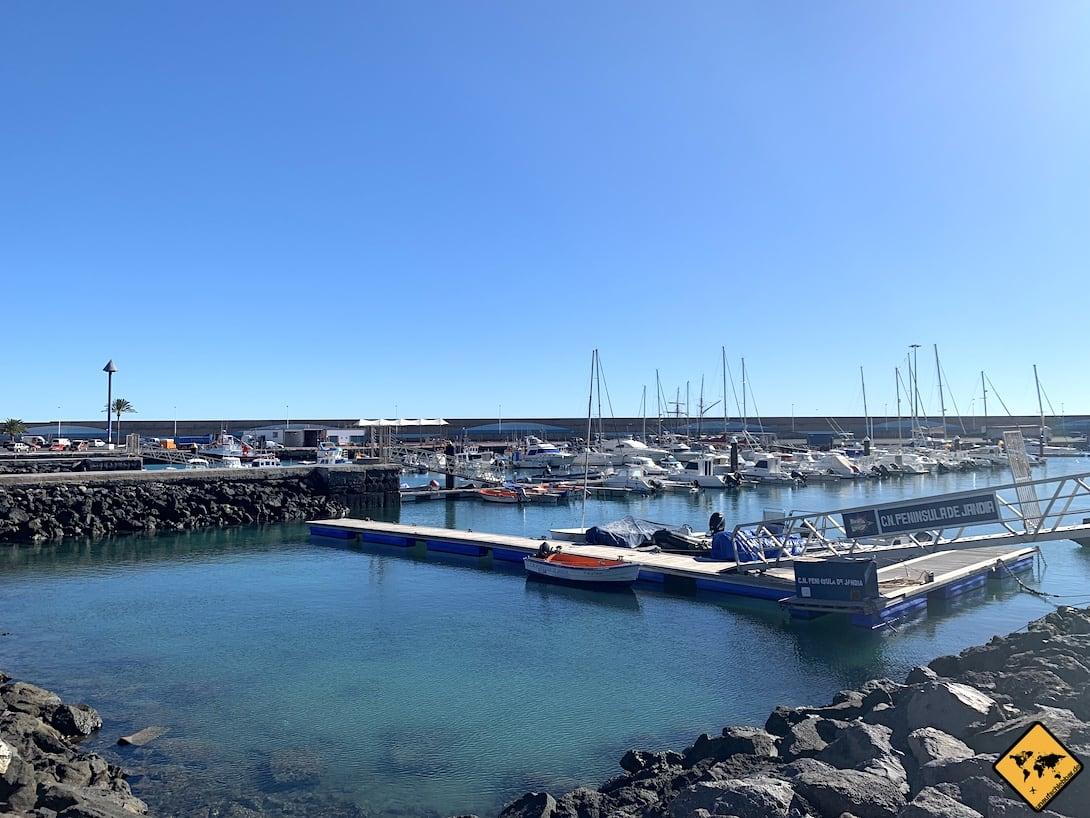 Morro Jable Hafen Fuerteventura