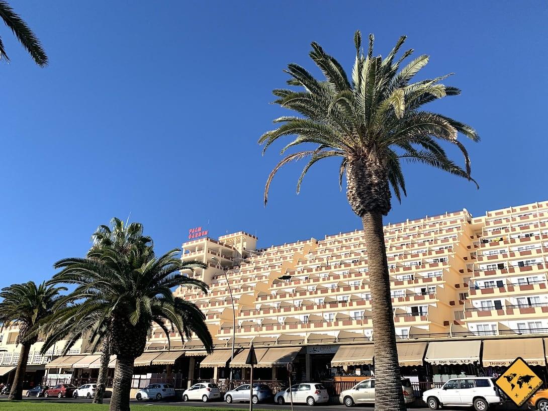 Morro Jable terrassenförmiges Hotel