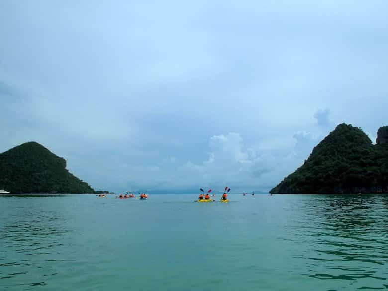 Mu Ko Ang Thong National Park Kajaks