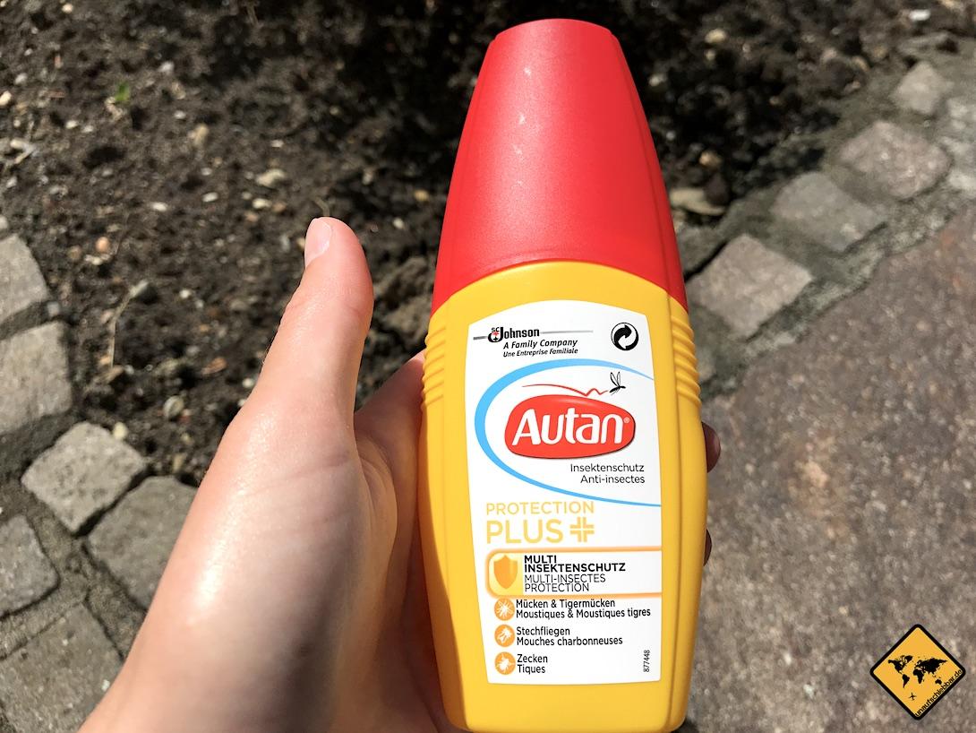 Mückenschutz Spray von Autan