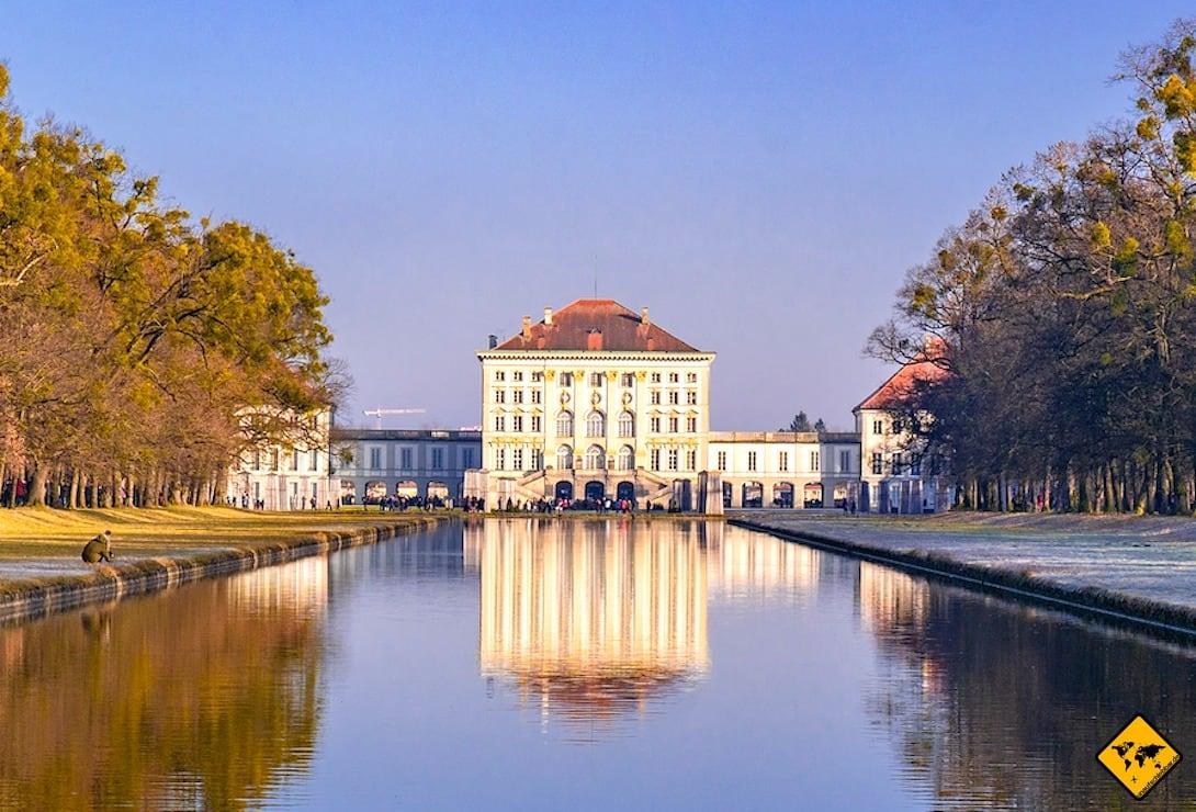 München 3 Tage Schloss Nymphenburg