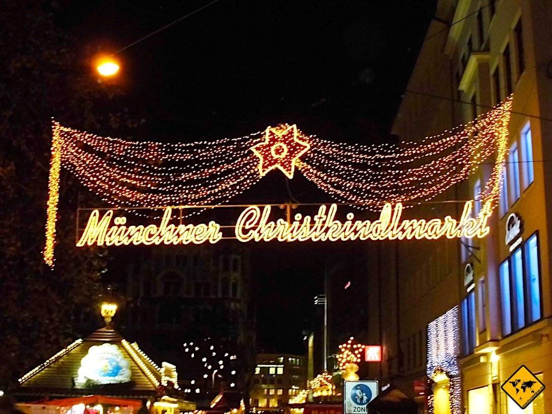 Münchner Christkindlmarkt Weihnachten