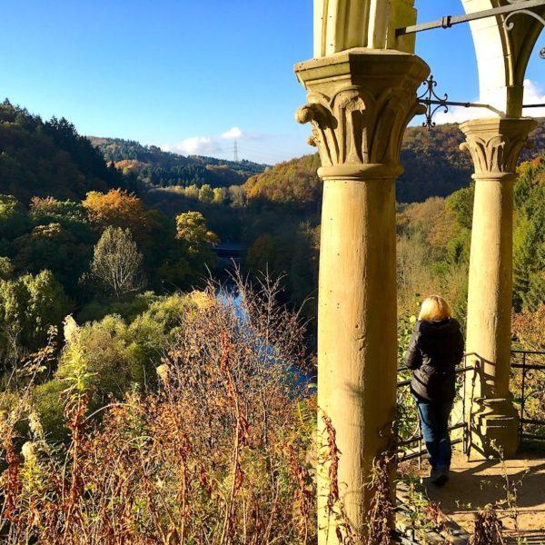 Müngstener Brücke Solingen Natur Herbst