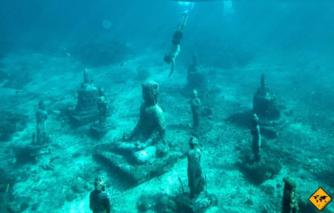 Museo Atlántico Playa Blanca Lanzarote Unterwasser Skulpturen