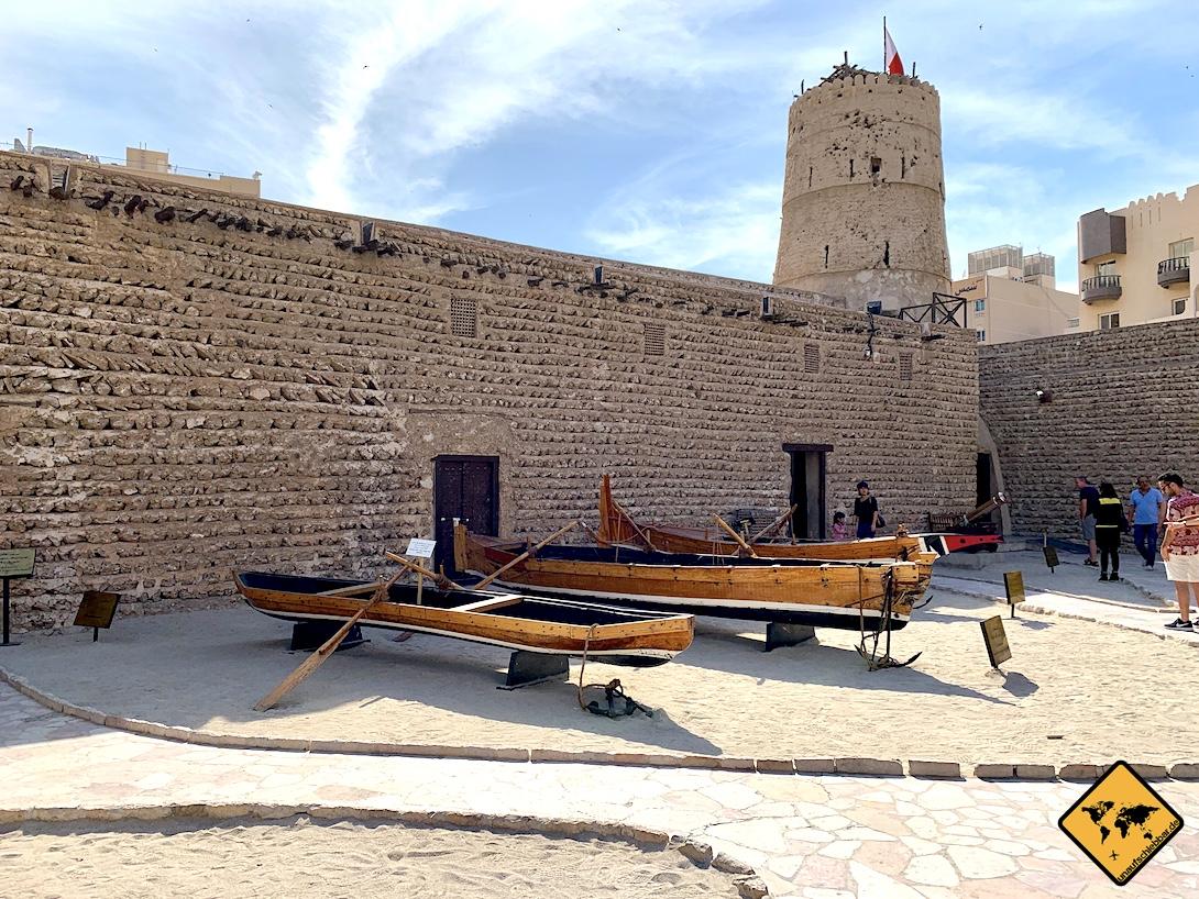 Museum Dubai Boote Al Fahidi Fort
