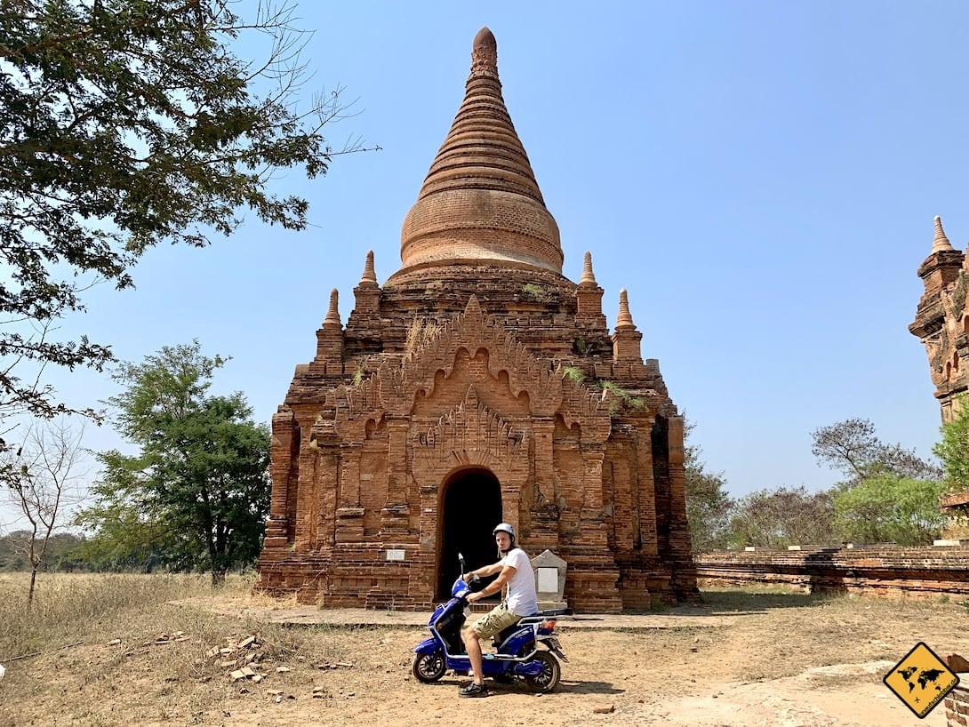 Myanmar Bagan Pagode E-Roller